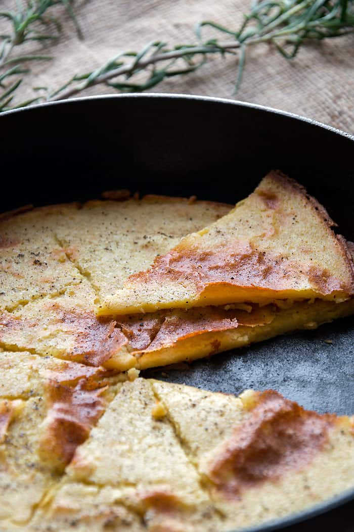 Cecina {Farinata} - Simple & Delicious Pancake