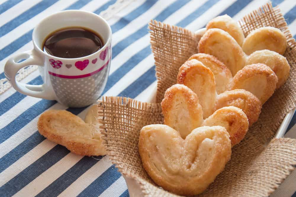 Photo of Melt-In-The-Mouth Cinnamon Pastry Hearts