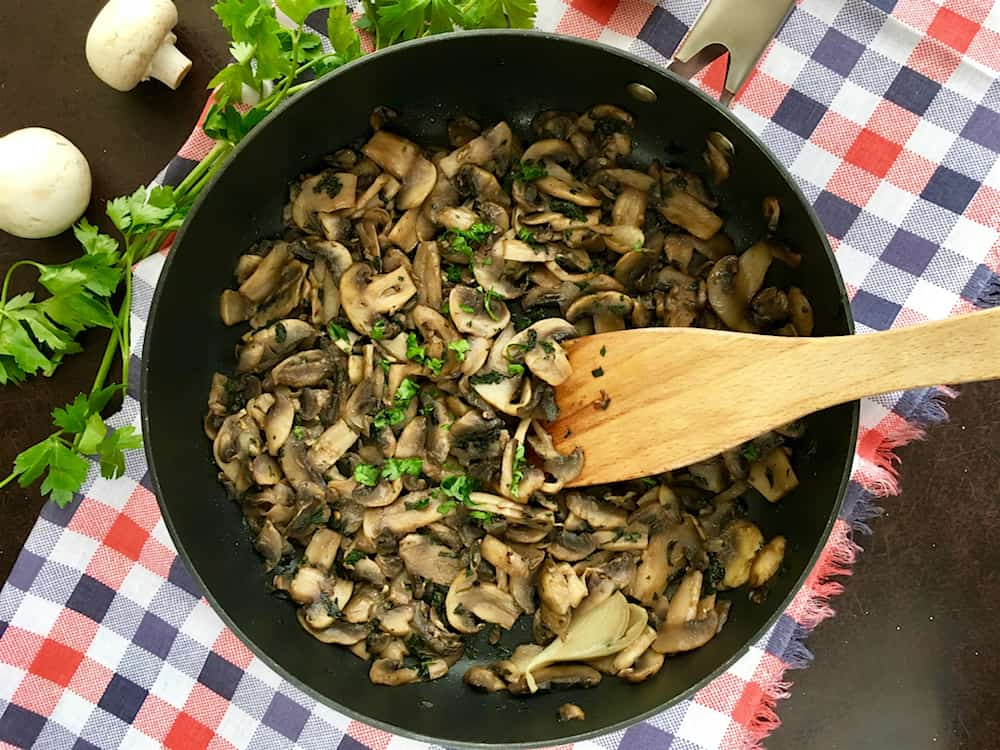 Photo of Sauteed Mushrooms with Garlic and Parsley – Funghi Trifolati
