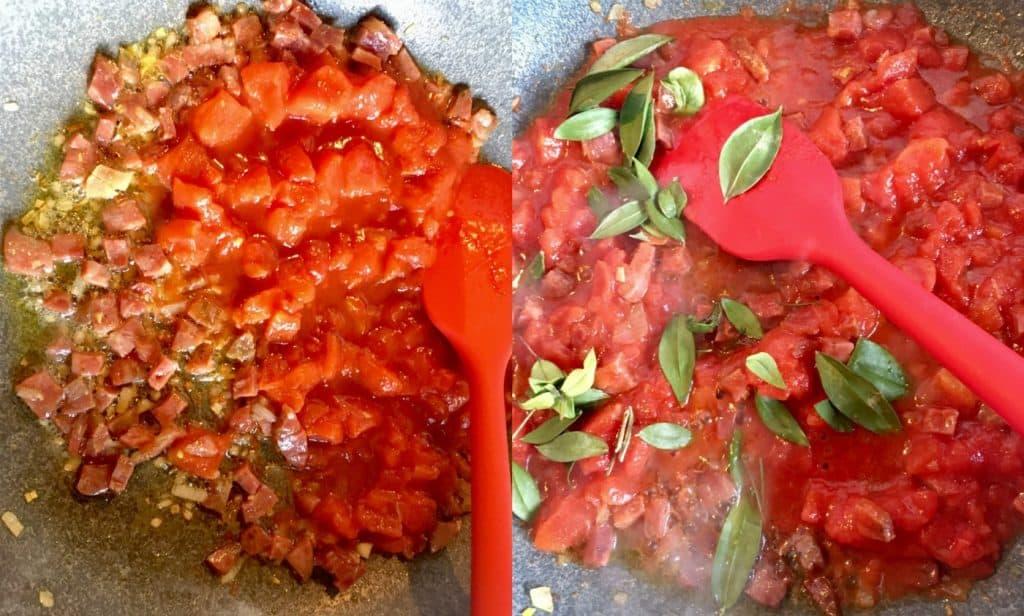 Sardinian Gnocchetti Malloreddus Recipe- Step 1-2