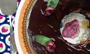 Low-Fat Chocolate Ricotta Cake - Recipe