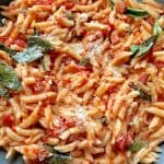 One of a kind Sardinian Pasta - Gnocchetti - Sardi with Piquant Ragu Sauce #yum#yum