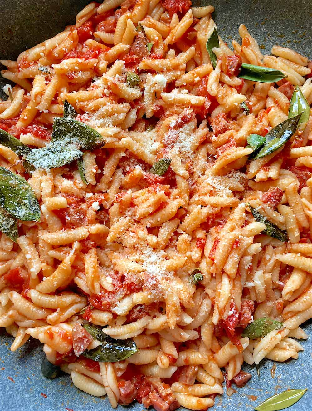 Photo of Sardinian Gnocchetti – Malloreddus with Aged Salt Cured Sausage