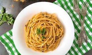 Spaghetti alla Bottarga Recipe - Luxury Sardinian Pasta that is a must try!!