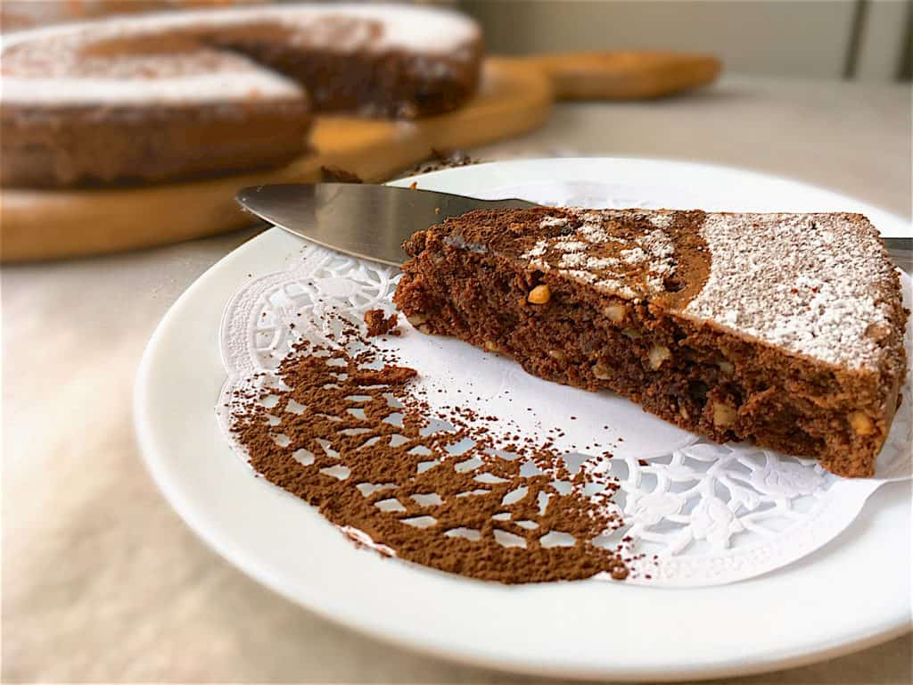 Torta Caprese - The Best Chocolate Almond Cake You'll Ever Eat