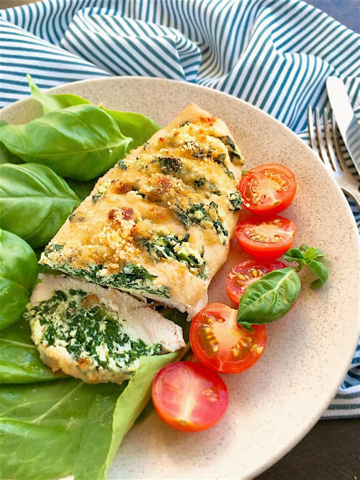 The Best Stuffed Hasselback Chicken Breast!!