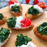 Italian Flag - Tricolor Crostini - Delicious!!