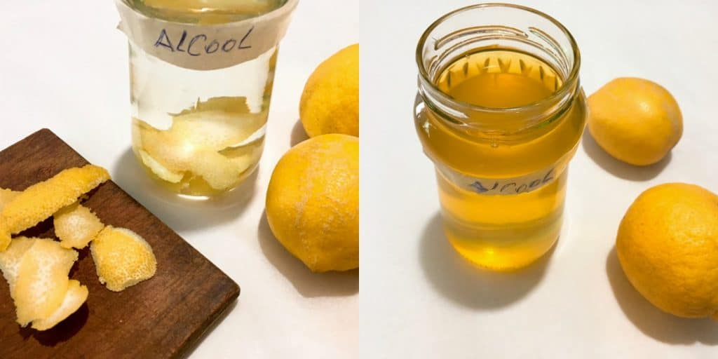Authentic Italian Limoncello - Step1