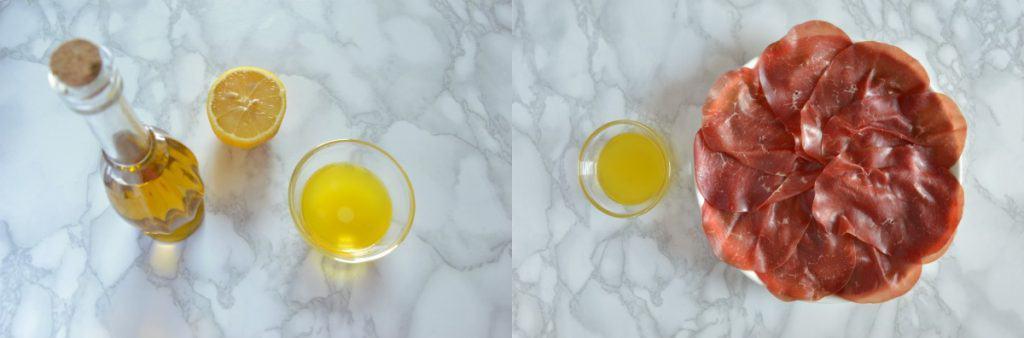 Bresaola & Arugula Salad - Step 1,2