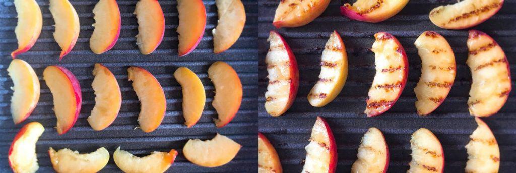 Bruschetta with Mozzarella, Prosciutto & Grilled Peaches - Step3