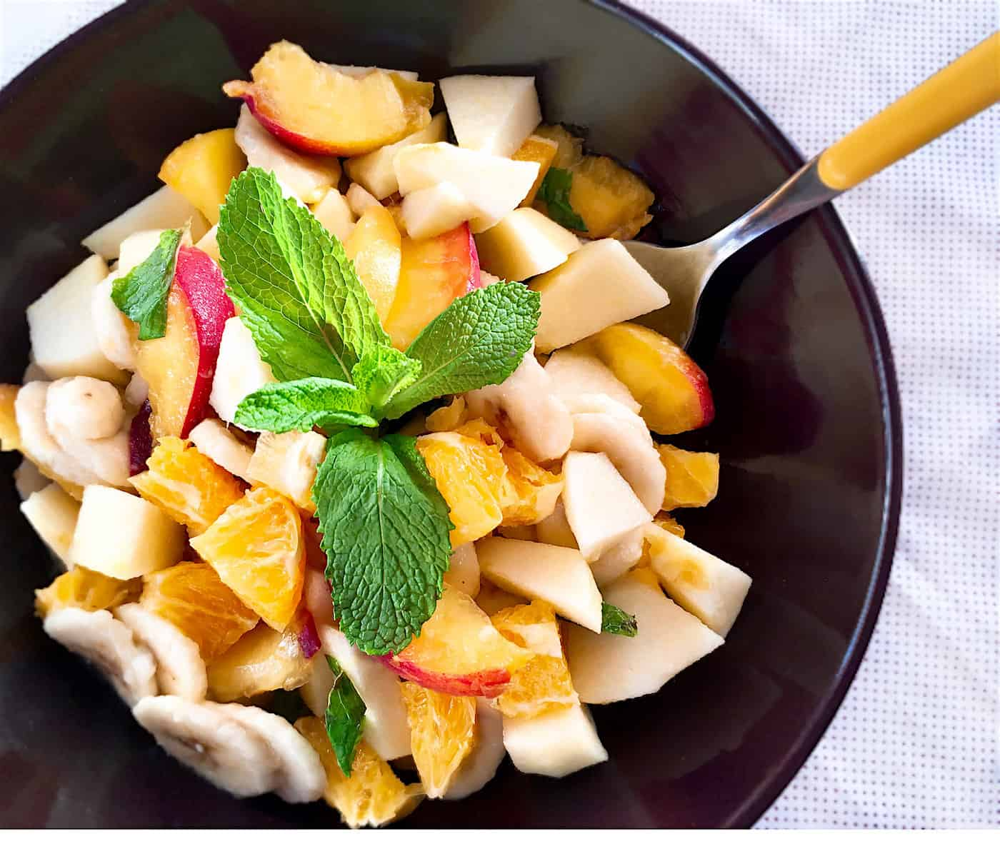 Photo of Italian Fruit Salad {Macedonia Di Frutta}