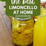 Easy Homemade Limoncello Recipe