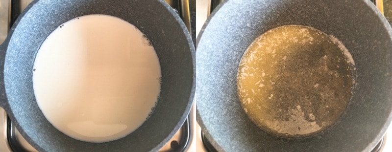 Parmesan Cream Sauce - Step1