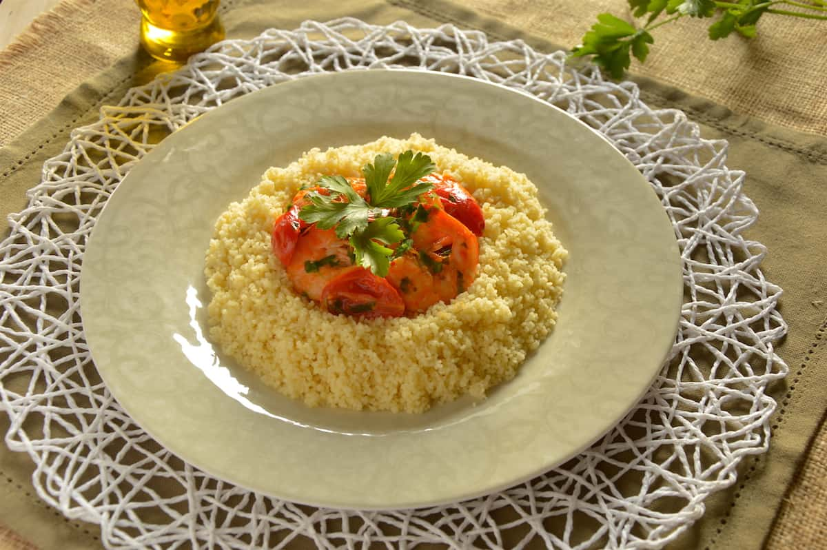 Photo of Shrimp Couscous – Fluffy, Light and Flavorful