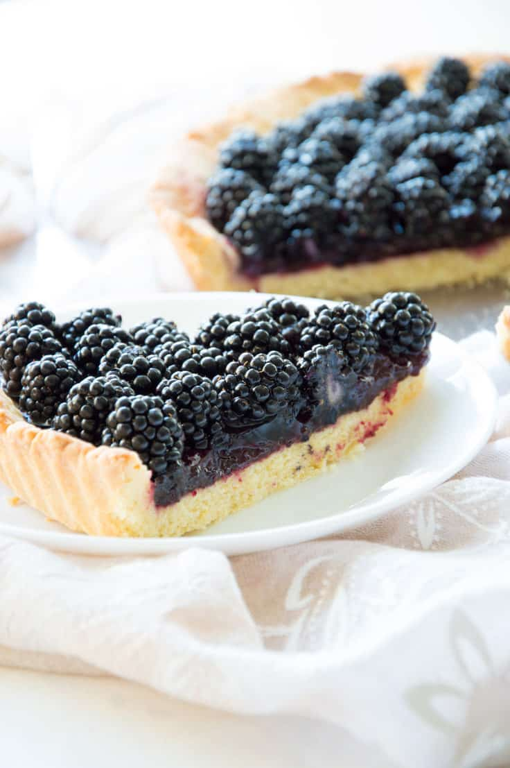 Delicious Fresh Blackberry Crostata