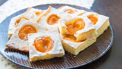 Photo of Fresh Apricot Squares Pie