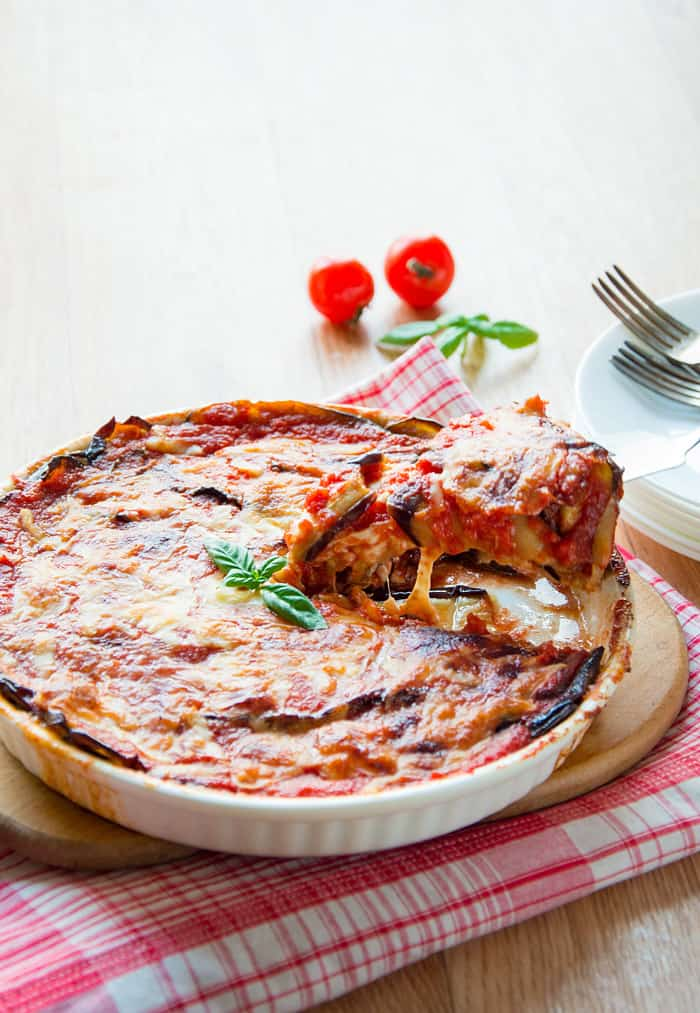 Timeless Italian Parmigiana with Eggplants - Light & Yummy!