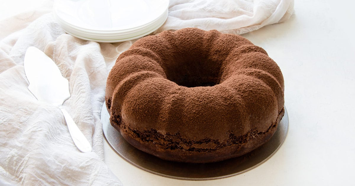 Photo of Chocolate Bundt Cake With Mascarpone Filling