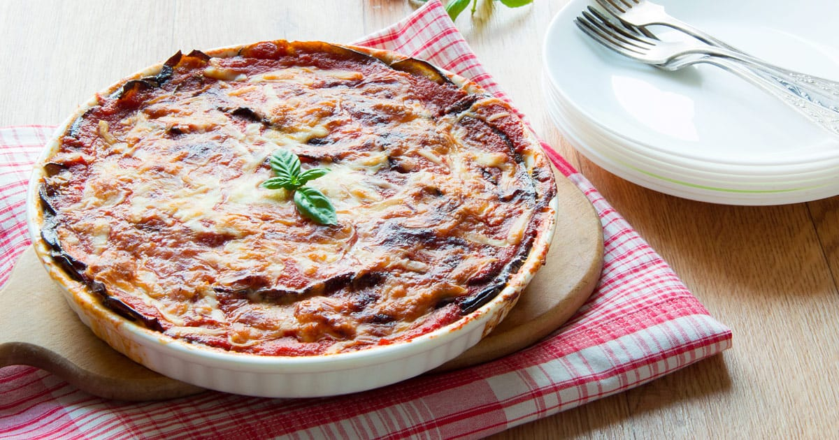 Timeless Italian Parmigiana with Eggplants
