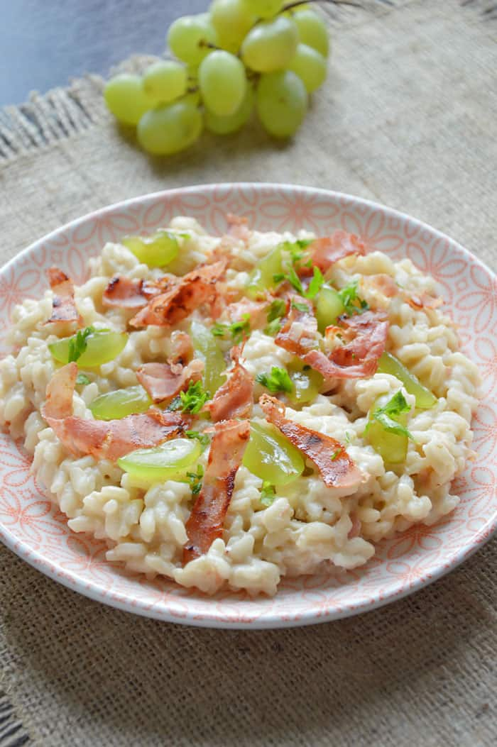Grape Risotto