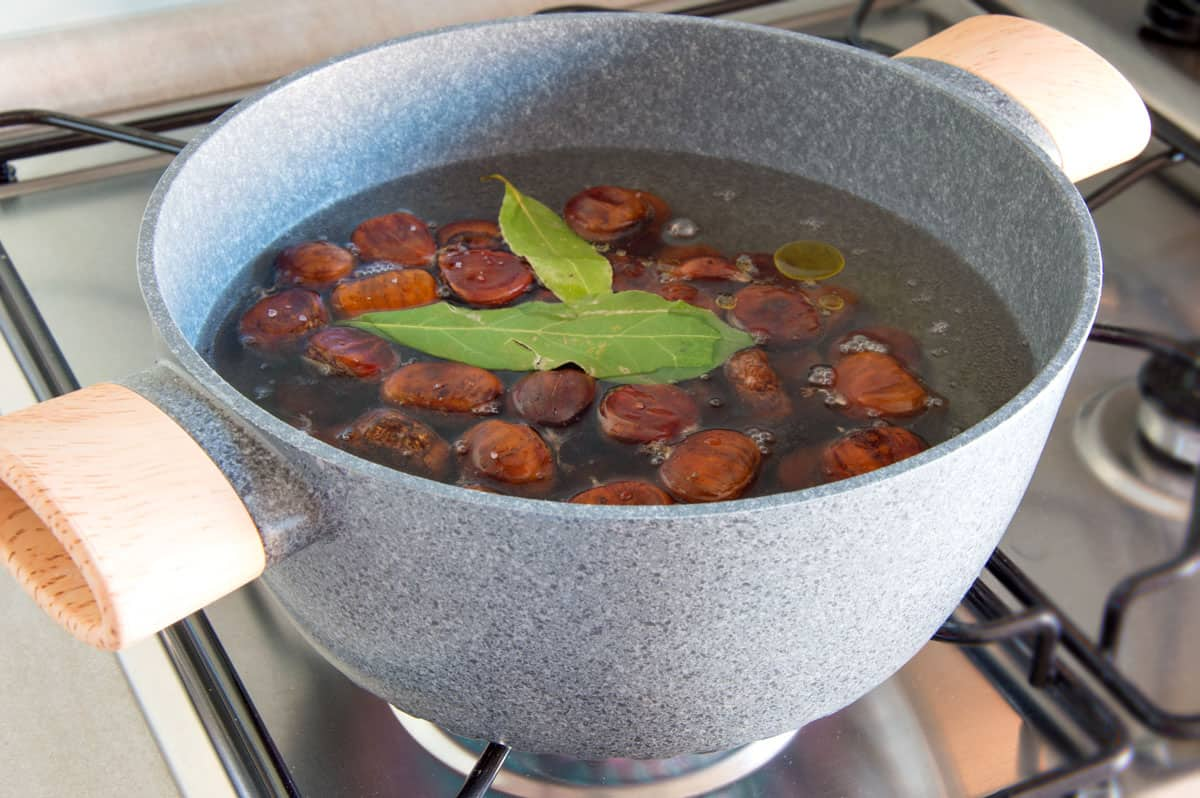 How To Boil Chestnuts - Step3