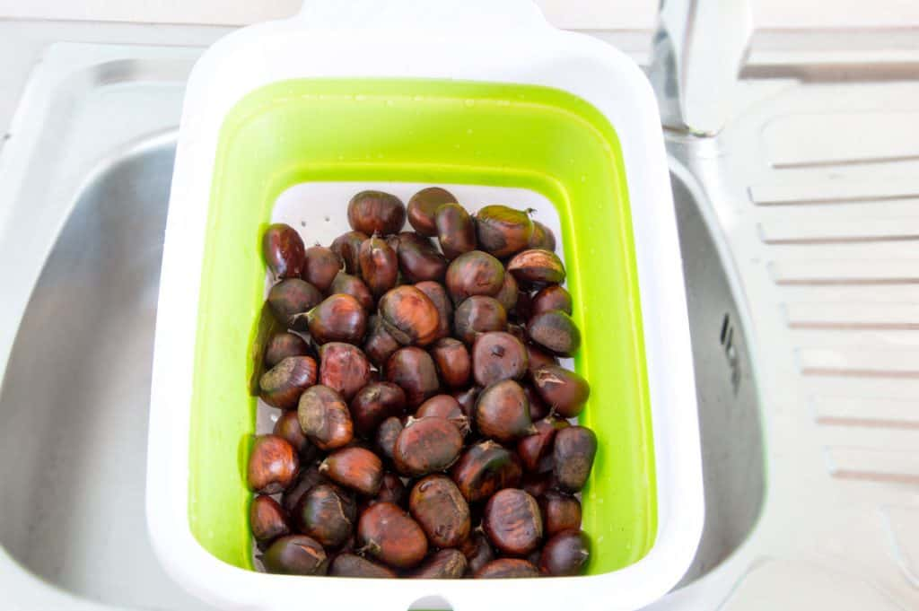 How To Boil Chestnuts - Step5