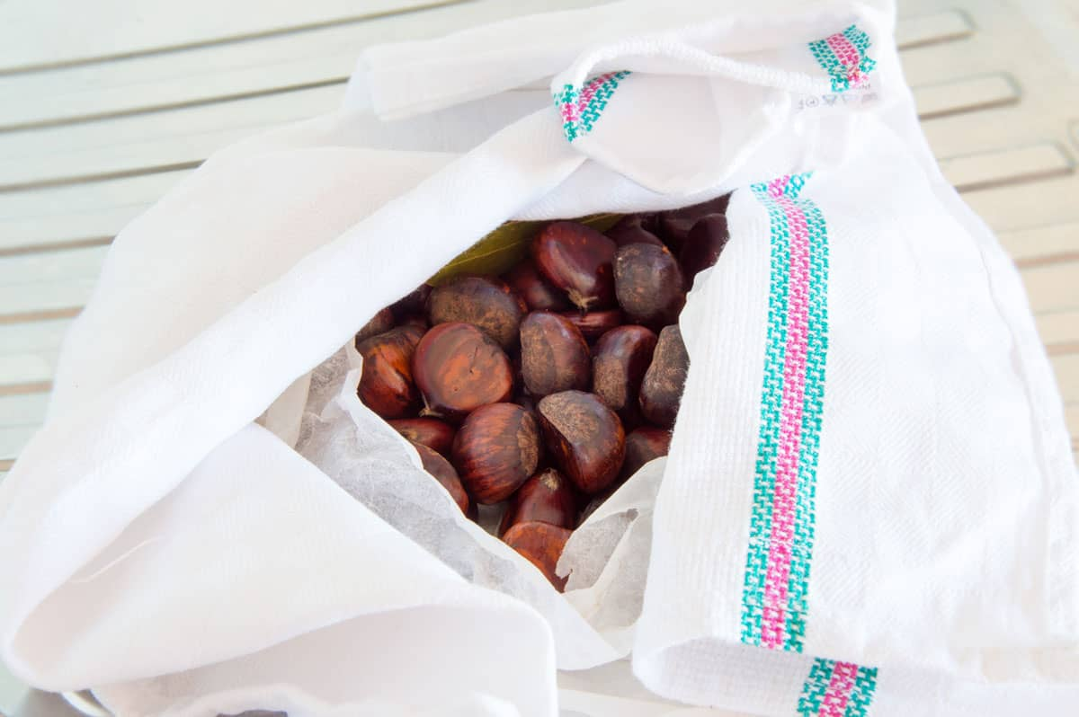 How To Boil Chestnuts - Step6