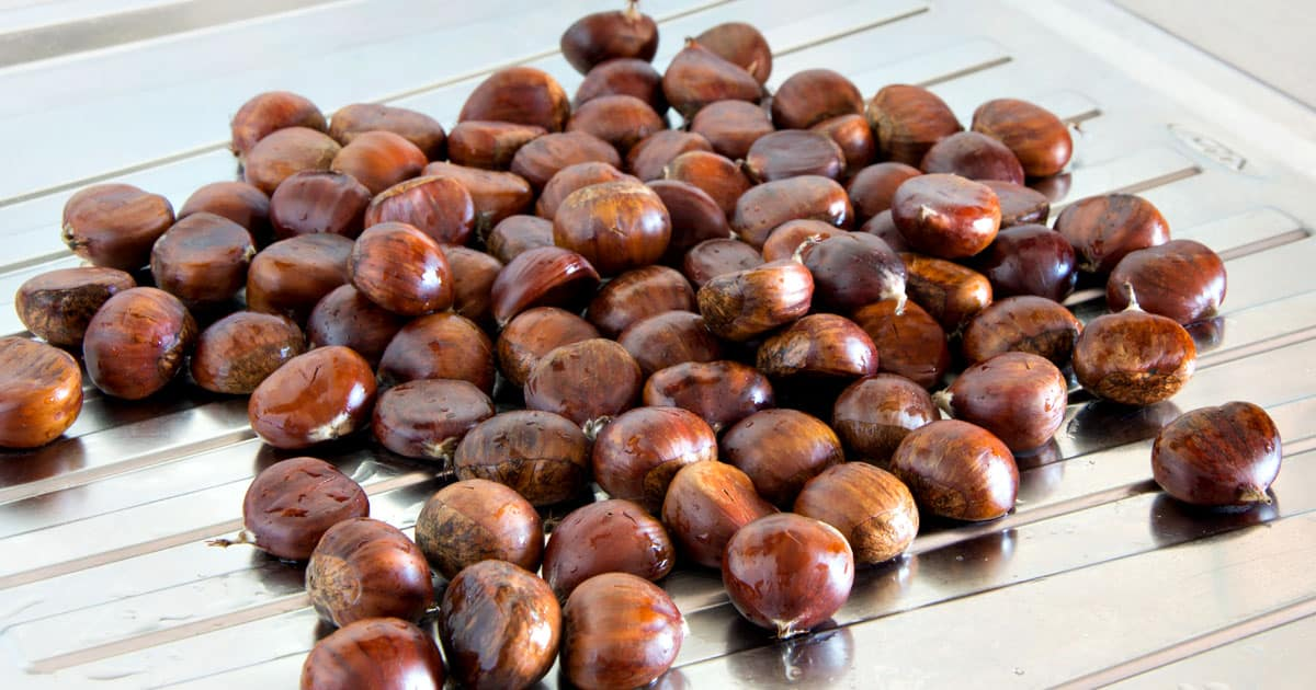 How To Boil Chestnuts