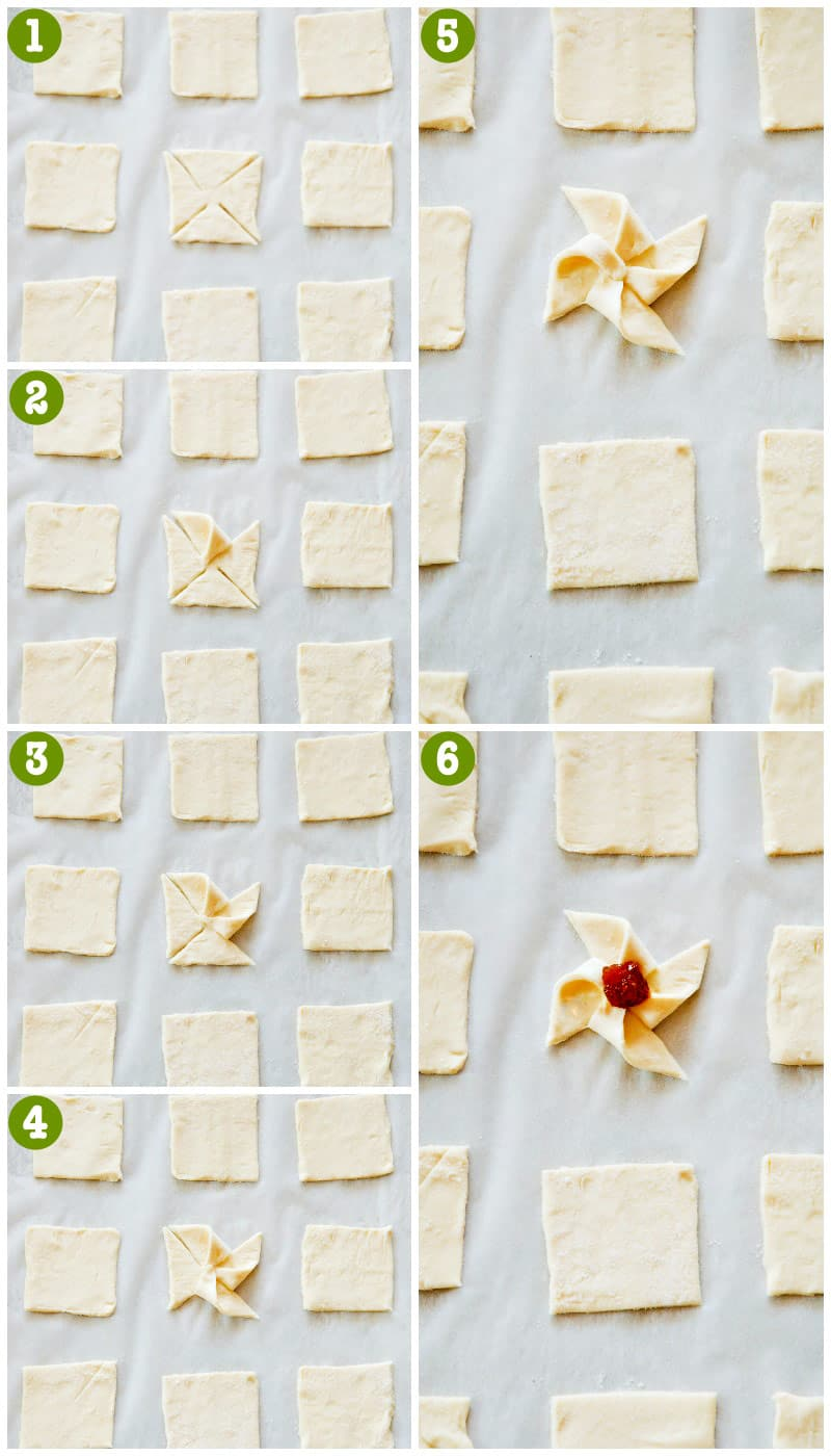 Puff Pastry Sfogliatine {Step by Step}