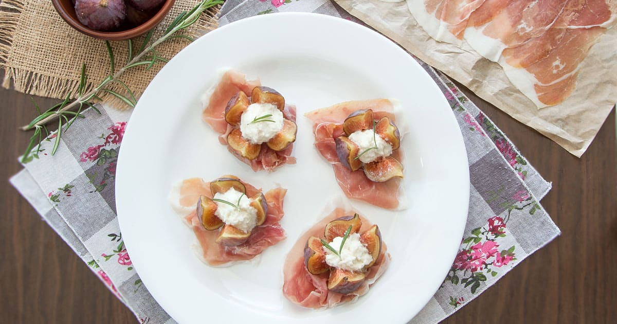Photo of Fresh Fig Bites With Prosciutto and Rosemary