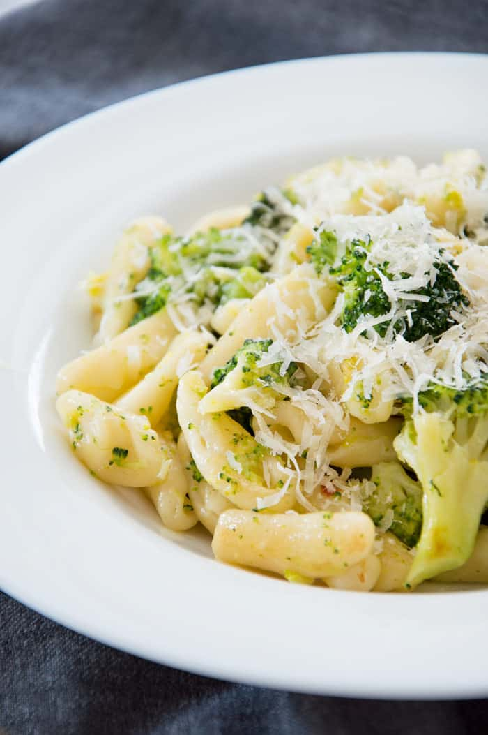 15-Minute Cavatelli & Broccoli {Recipe}
