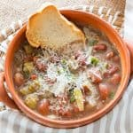 Escarole & Bean Soup Recipe