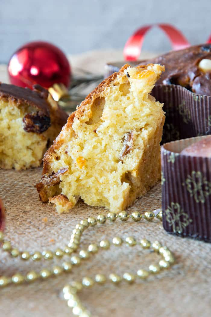 Homemade Italian Mini Panettone {Recipe}