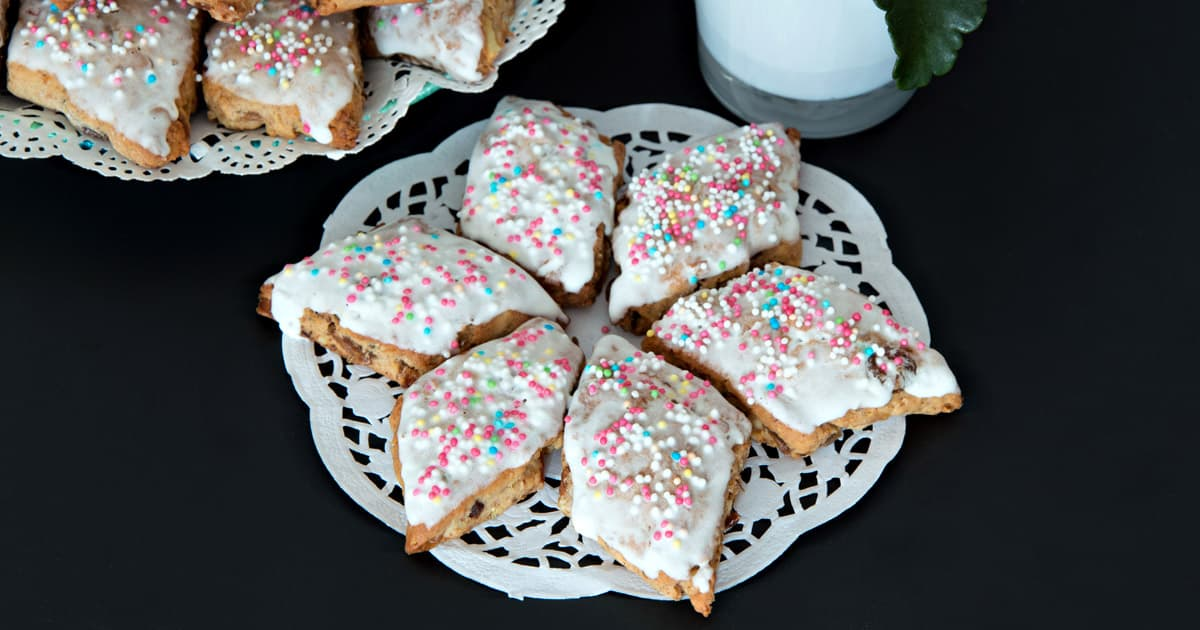papassini sardinian anise cookies italian recipe book - Italian Christmas Cookies Anise