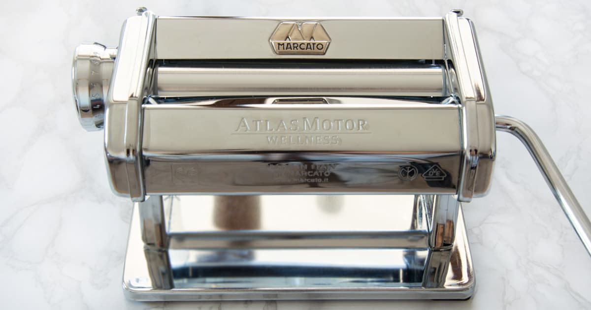 Photo of Atlas Pasta Machine By Marcato {Detailed Review & User Guide}
