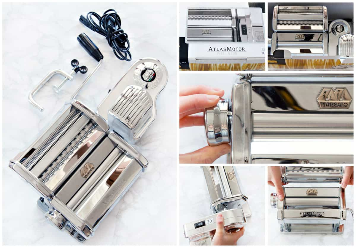 How To Assemble Pasta Machine