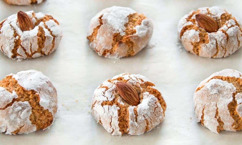 Amaretti - Italian Chewy Almond Cookies - Italian Recipe Book