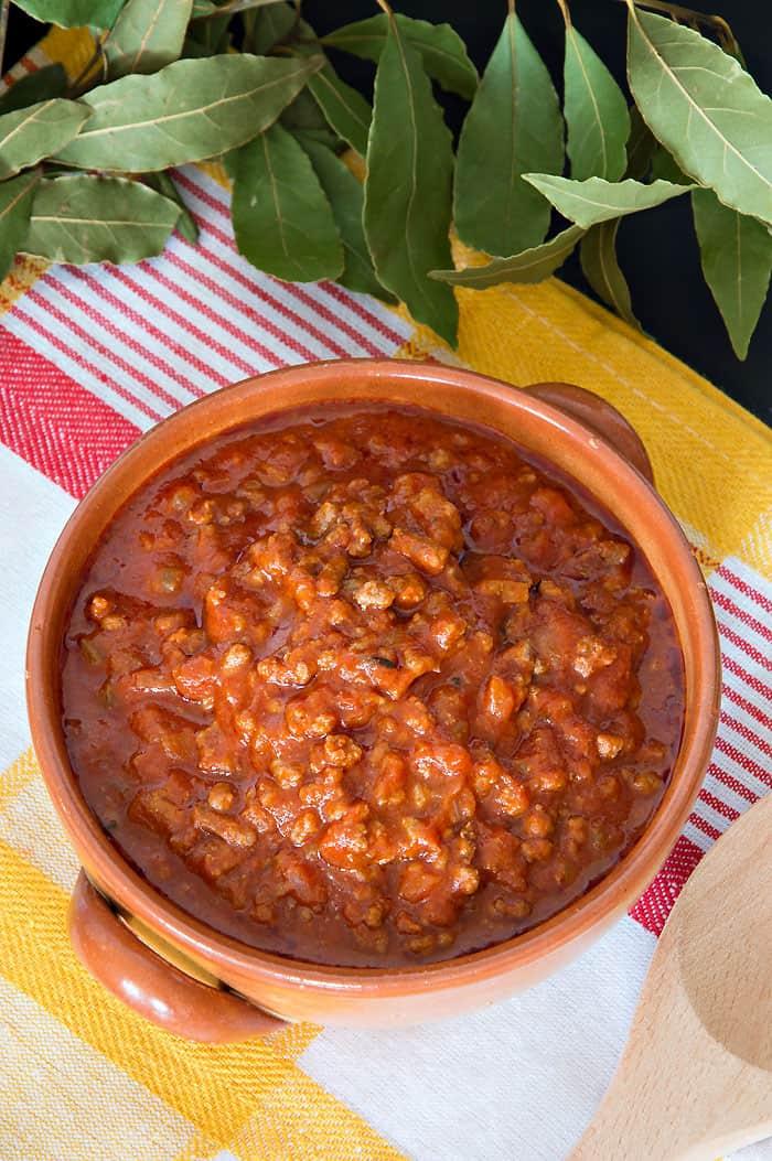 Ragù alla Bolognese {Authentic Italian Recipe}