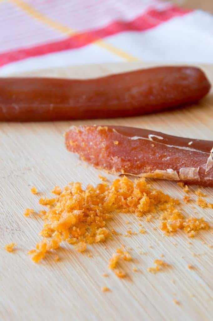 How To Use Bottarga {Grey Mullet Fish Roe}