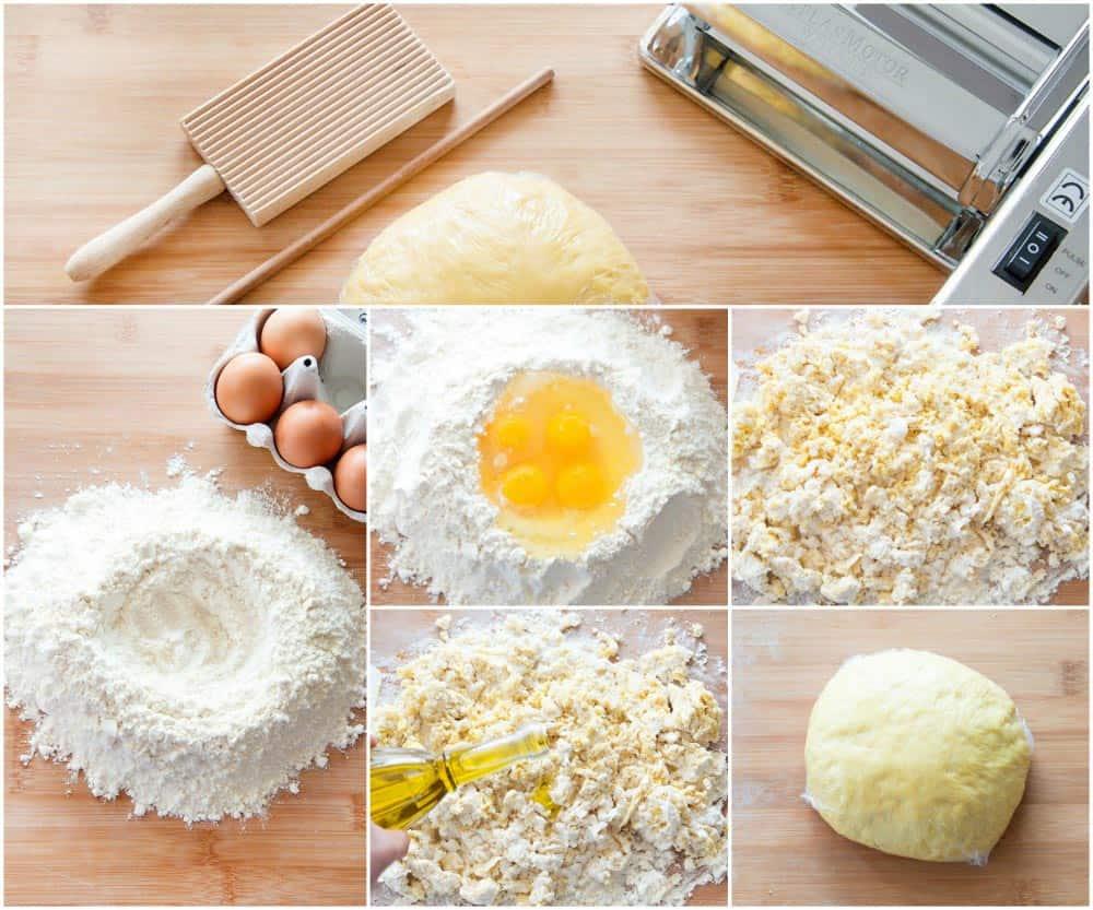 Garganelli Dough & Tools
