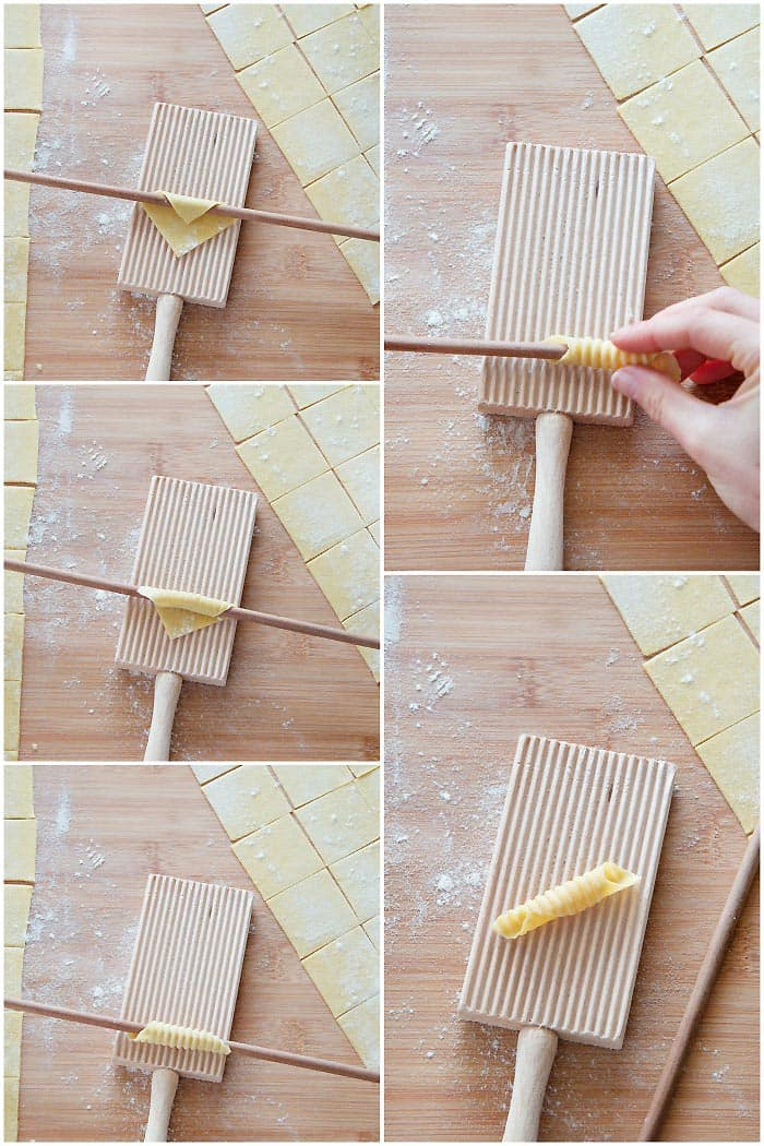 How To Shape Garganelli
