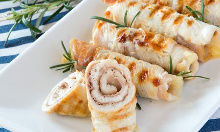 Chicken Involtini {Chicken Rolls w/Prosciutto & Cheese}