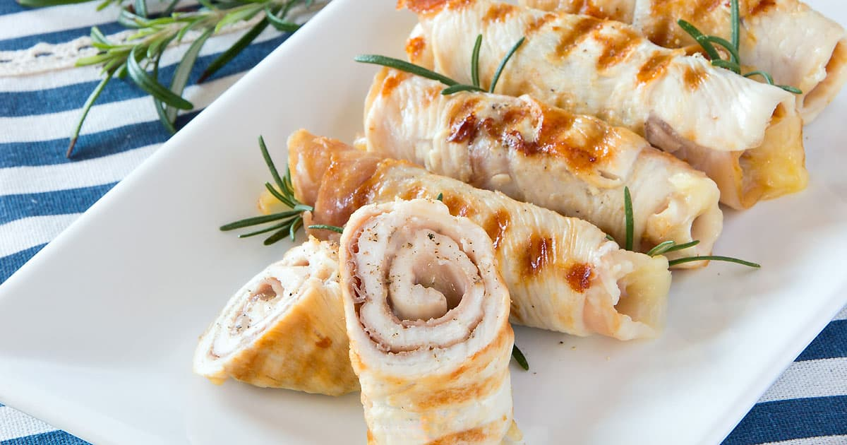 Photo of Chicken Involtini {Stuffed Chicken Rolls}