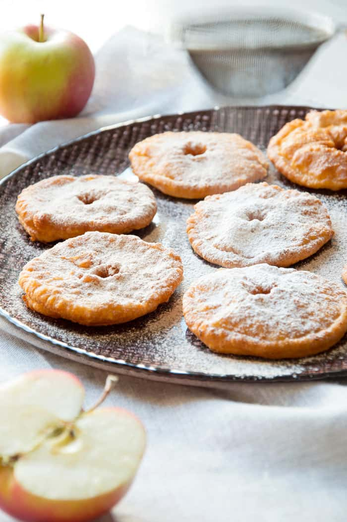 Apple Fritters {Two Ways} - Finger-licking-good!