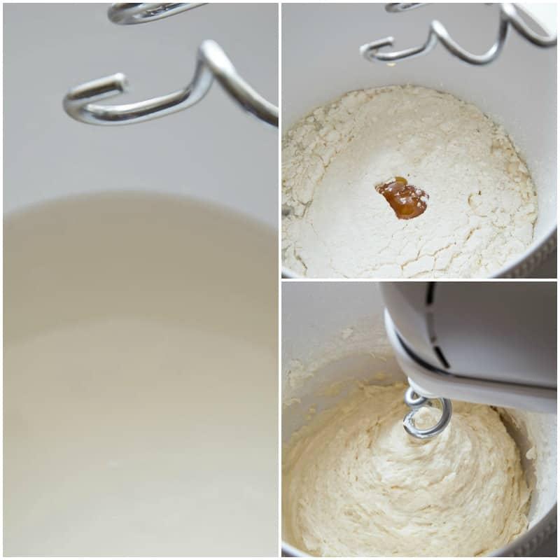 Traditional Focaccia Recipe - Step 1