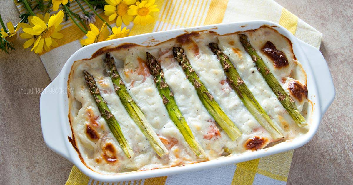 Photo of Asparagus Casserole With Salmon & Potatoes