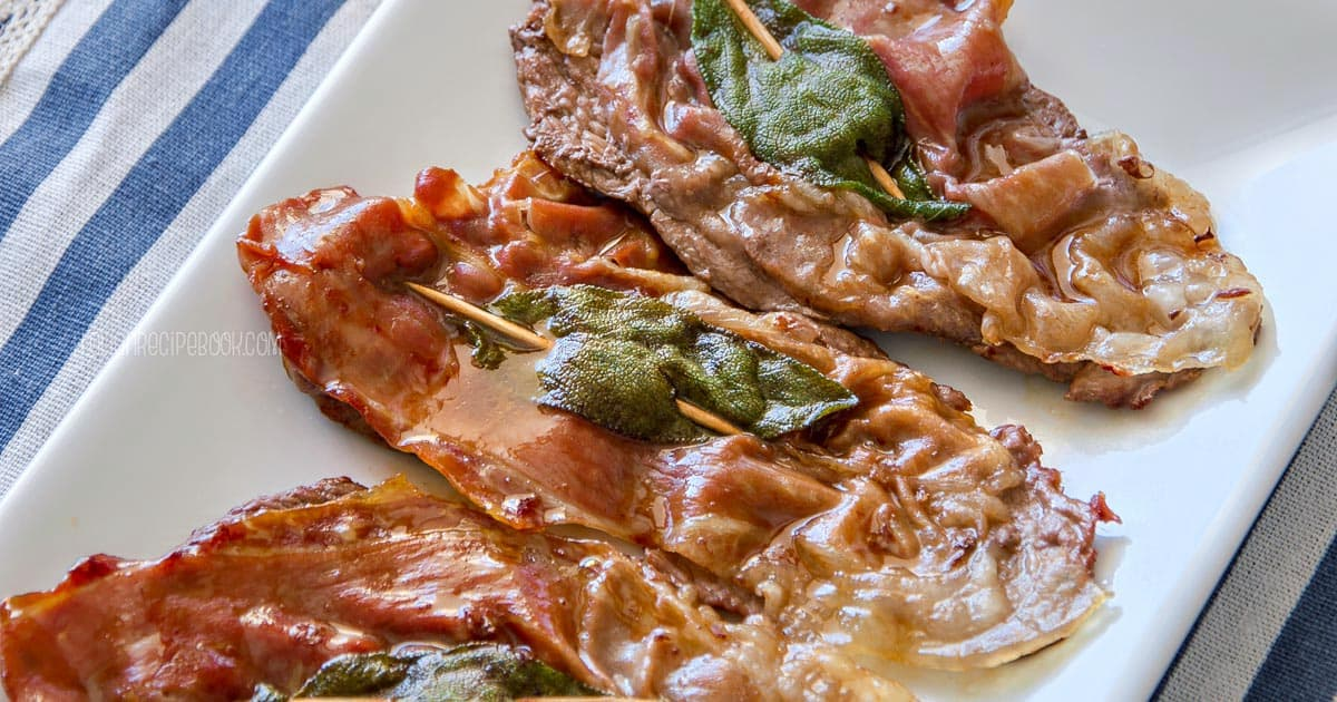 Photo of Saltimbocca Alla Romana {Veal Saltimbocca Roman Style}