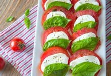 Caprese Salad {How Italians Make It}