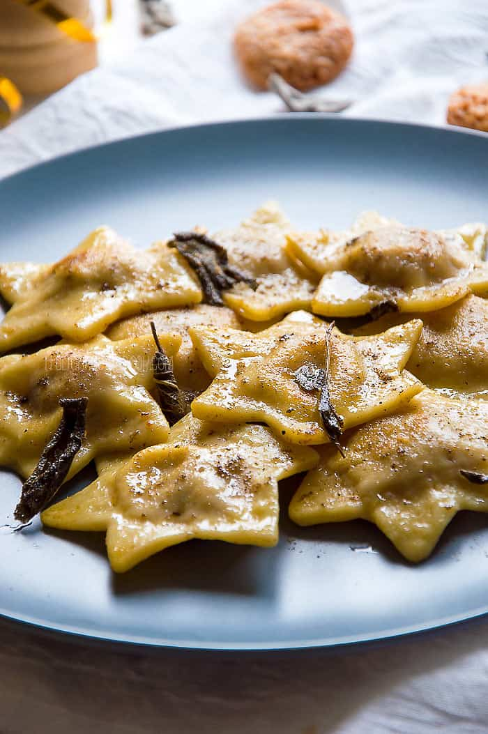 Tortelli Mantovani {Pumpkin Tortelli from Northern Italy}