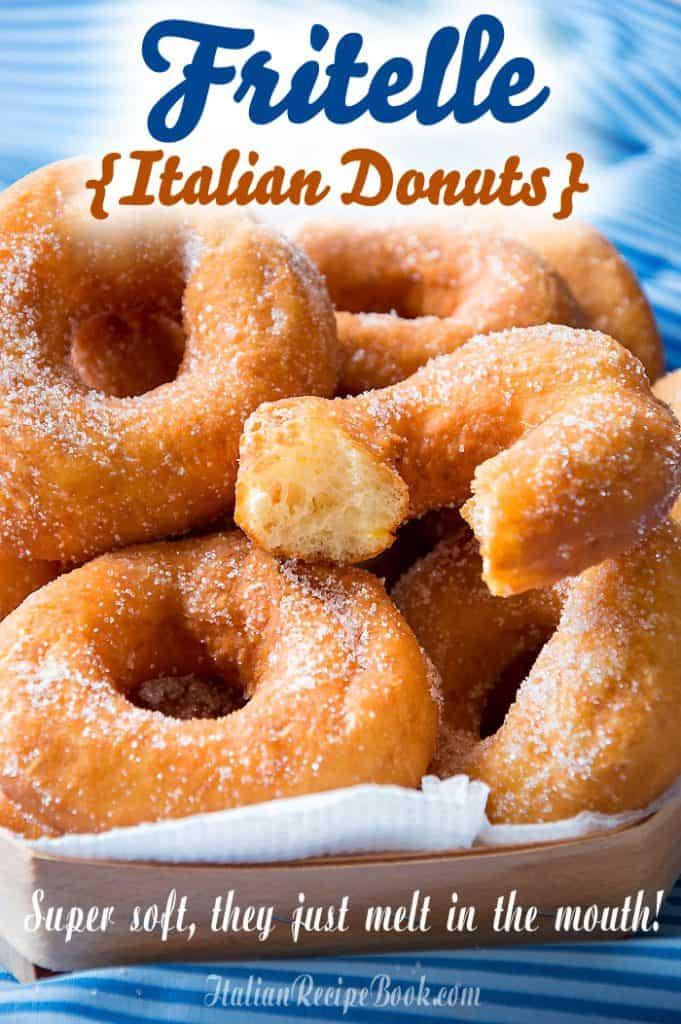 Fritelle-Ciambelle {Delicious Italian Donuts!!}